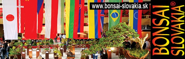 BONSAI SLOVAKIA, NITRA  -  since 1997 INTERNATIONAL BONSAI & TEA FESTIVAL